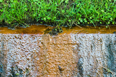 rust red: Water rust red Harm the consumer and the Environment