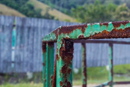 rust is dammage for Stainless steel is harmful objects. Caustic Making lifetime reduced.