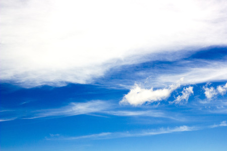 blue sky with clouds moves Stock Photo