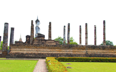 Sukhothai Historical Park in Sukhothai Province Thailand. Its one of the most historical parks in Thailand