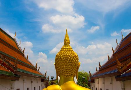 Chao Phraya River and Wat Arun Temple at sunrise. Bangkok, Thailand