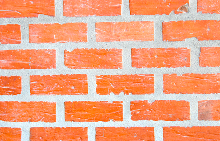 old brick wall texture grunge background with vignetted corners, may use to interior design