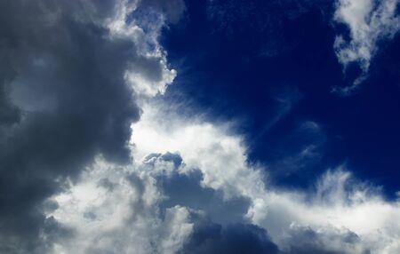 Beautiful storm sky with clouds, apocalypse like.