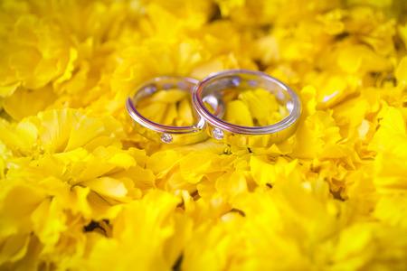 Stock Photo - wedding rings photo