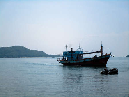 タイの海の瞬間