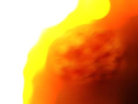 heat wave: heat wave burning at climate change.