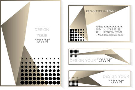 lay out: Luxury Lay out -cover and banner business  design