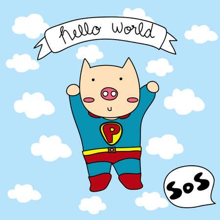 save the world Ilustração