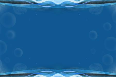 slaty: Abstract Blue Frame