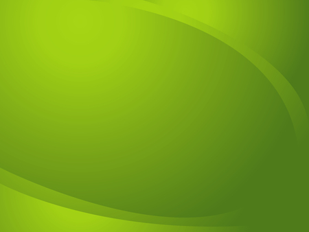 designing: Abstract green background, designing in curved frame Stock Photo