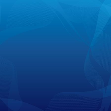 background light: Abstract blue background, curved frame vector