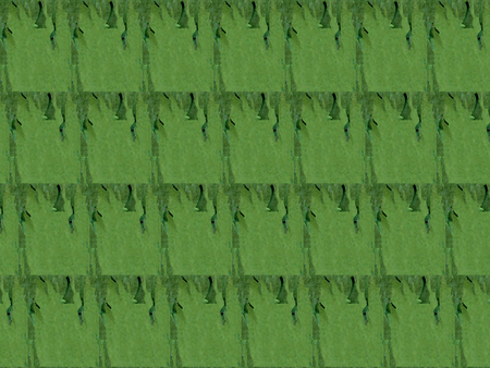 Green plot background