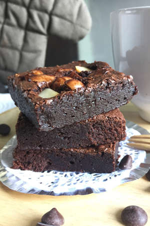 brownies: Fudge brownies
