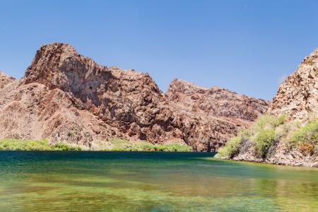 nature photography: Beautiful Lake mead landscape