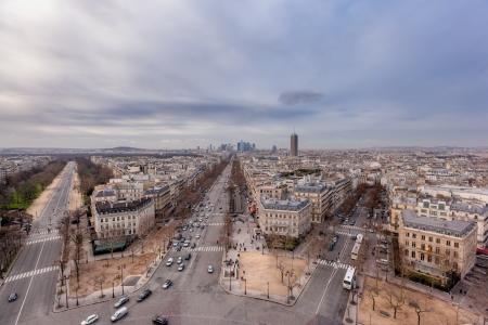 la defense: Paris - La defense cityscape  Stock Photo