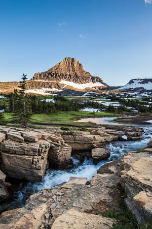 reynolds: Glacier National Park - Reynolds Mountain at Logan Pass