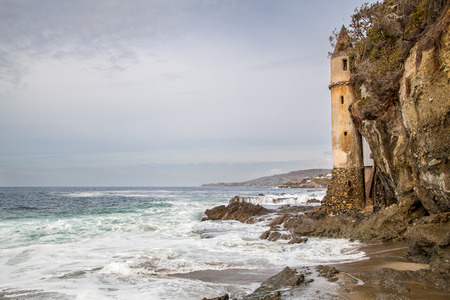 Laguna beach coastline, California, USA photo