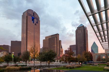 district: Dallas downtown - Arts district, Texas Stock Photo