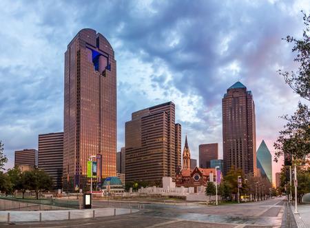Dallas downtown - Arts district, Texas Archivio Fotografico