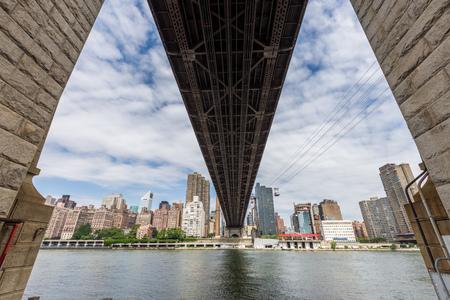 queensboro bridge: Ed Koch Queensboro bridge and roosevelt Tram, New York City