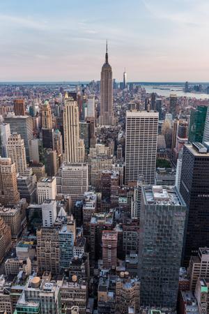 New York City midtown skyline Stok Fotoğraf