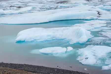 polar environment: Iceberg in Jokulsarlon Glacier Lagoon, Iceland. Stock Photo