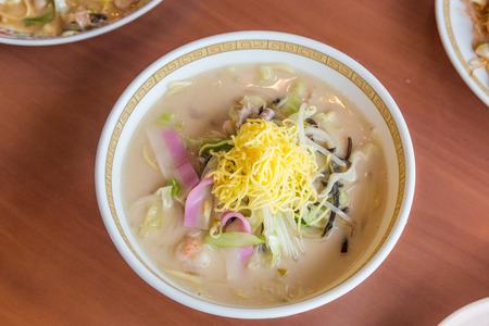 Seafood Champon - Traditional Nagasasaki  noodle dish