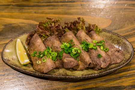 Gyutan - Japanese style grilled beef tongue