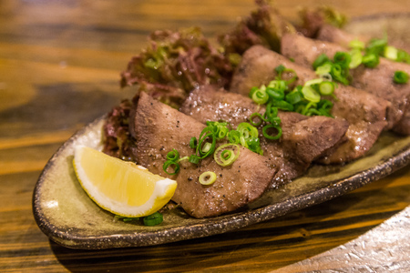 delicious food: Gyutan - Japanese style grilled beef tongue
