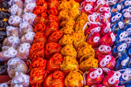 shinto: Colorful Omamori japanese charms