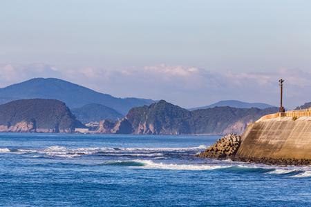 Nichinan coastline in Miyazaki, Kyushu, Japan Stock Photo
