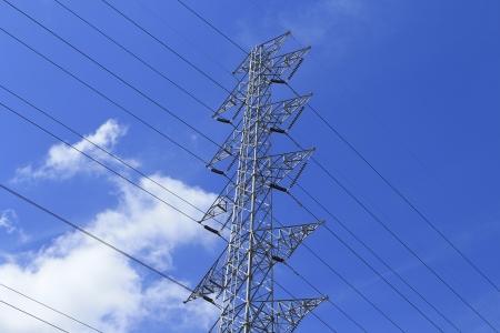 High voltage pole