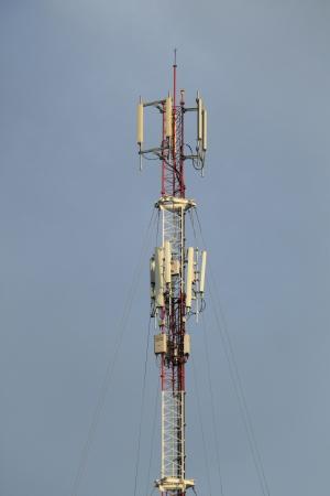 gsm: GSM antennas Stock Photo