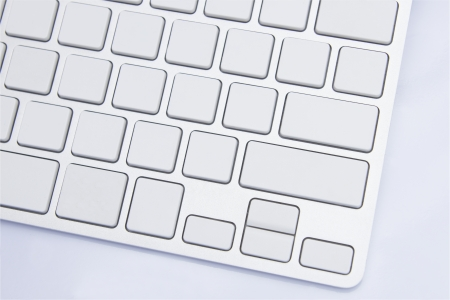 alphabet keyboard: Blank Keyboard for input for ideas Stock Photo
