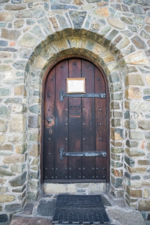 Stone Door at Church of the Good Shepherd photo