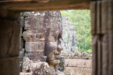 thom: Angkor Thom, Siem Reap, Cambodia Stock Photo