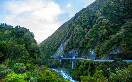 kaikoura: The Otira Tunnel is a railway tunnel on the Midland Line in the South Island of New Zealand, between Otira and Arthurs Pass. It runs under the Southern Alps from Arthurs Pass to Otira - a length of over 8.5 kilometres.