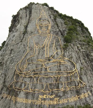 statuary: Buddha statuary in mountain