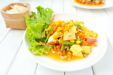 Papaya salad photo