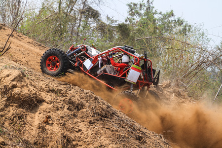 Participants in offroad competition