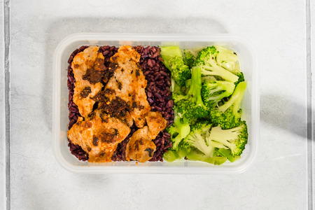 Meal Prep (Broccoli,Pork Meat only,Brown rice)