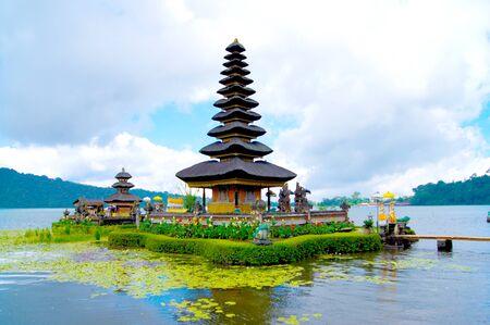 Bali Altstadt Indonesien Standard-Bild