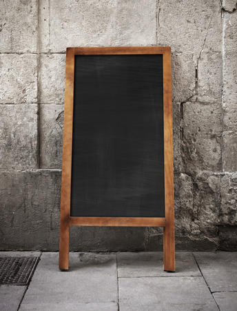 bulletin board: Black vintage chalkboard