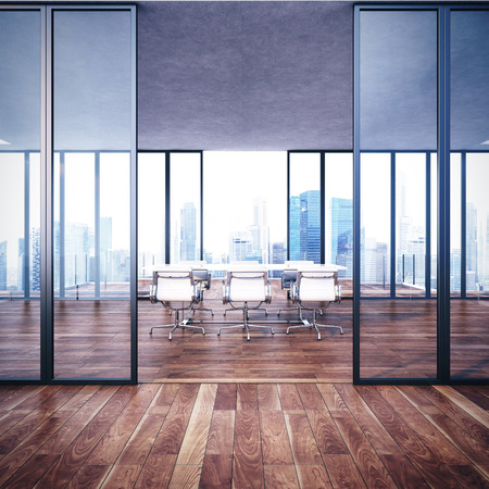 vaso vacio: Vac�o interior de la oficina moderna