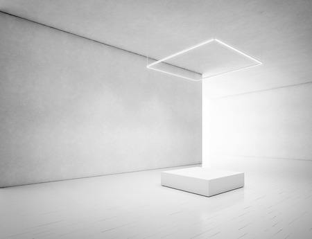 연단 맑고 간. 3D 렌더링