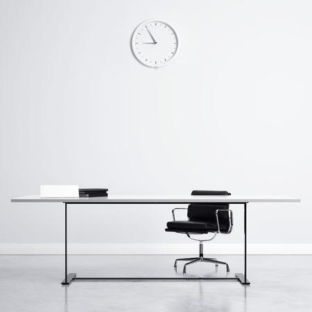 oficina: Lugar de trabajo  Foto de archivo