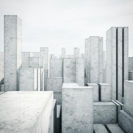 hormig�n: modelo abstracto de una ciudad
