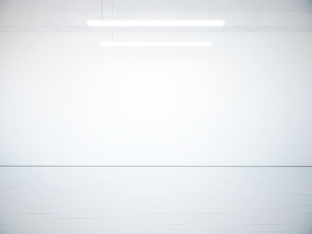 blank space: Concrete blank space interior wall. 3d render Stock Photo