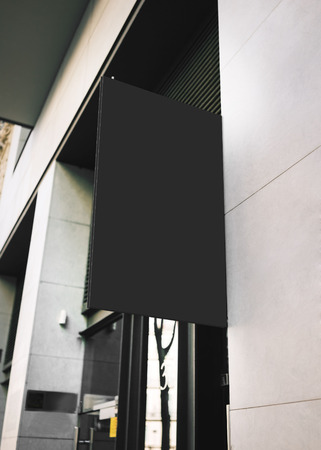 embellished: Modern signboard on the wall