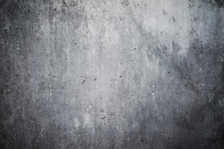 Zeer gedetailleerde en lege betonnen muur. Grijze achtergrond, horizontaal